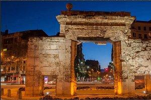 timelapse Zaragoza city Spain