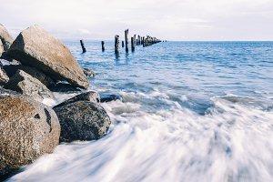 Bridport Beach in Tasmania