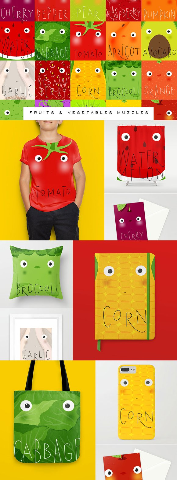 Fruits & Vegetables Muzzles