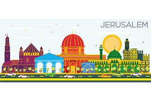 Jerusalem Israel Skyline