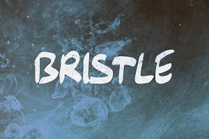 Bristle - Hand Drawn Font