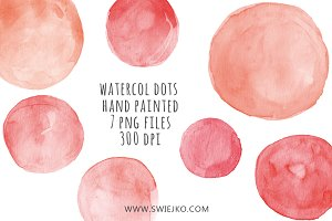 Watercolor Clipart, Bubbles