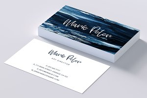 Art canvas effects business card