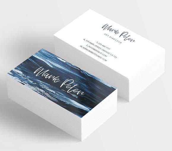 Art Canvas Effects Business Card Business Card Templates