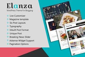 Elanza Pro - Magazine & Blog Theme