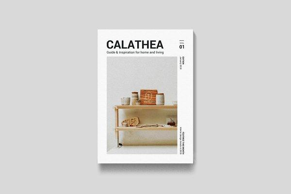 Magazine Templates: Leaflove - Magazine