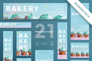 Banners Pack | Bakery