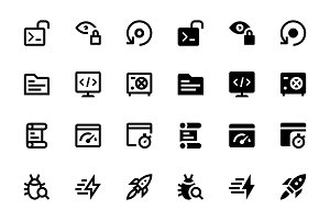 26 Web & Mobile Development Icons