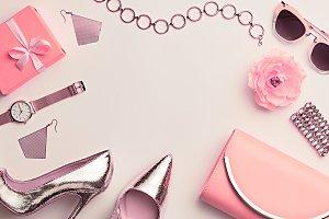 Fashion Woman Accessories Set