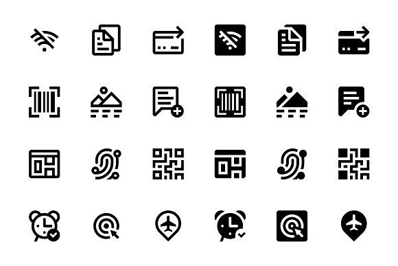 198 Basic UI Icons #3