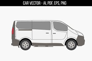 Ford Tourneo Custom vector