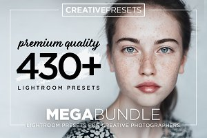 430+ LIGHTROOM PRESETS BUNDLE