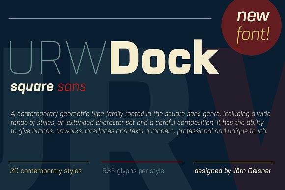 URW Dock Thin