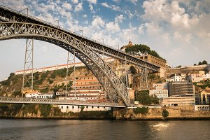 Beautiful cityscape in Porto