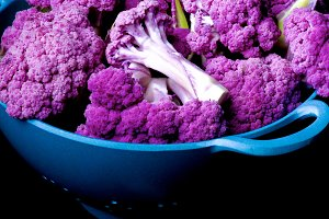 Fresh Purple Cauliflower