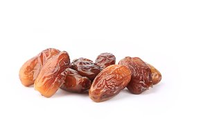 date fruit isolated on white background