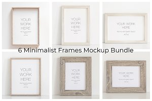 Mockup, Frame Mockup Bundle of 6