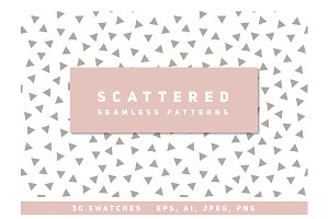 Scattered Seamless Patterns