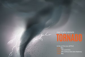 Tornado Swirl Set