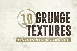 10 Grunge Textures/Overlays