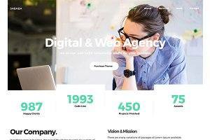 Sababa - Multipurpose HTML Template
