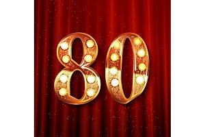 Golden number - 80