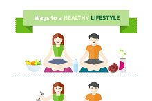 Concept of healthy lifestyle