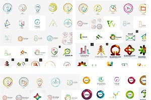 Huge collection of vector logos