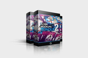 Flyer Mockups Bundle 02