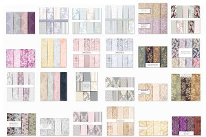 Vector bundle 30 damask patterns