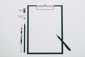 Clipboard and accessories
