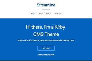 Streamline - Kirby Theme