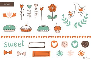 Sweetie Pie | Clip Art Set