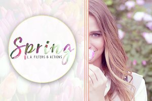Spring - Photoshop Actions