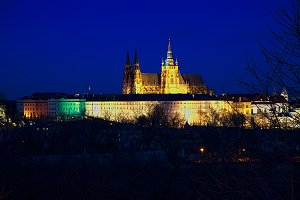 Prague Castle Cathedral Saint St Vit