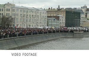 Demonstration in Moscow.