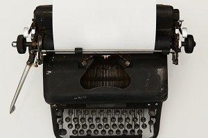 Typewriter- Blank Page