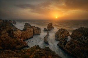 Ponte da Piedade, Algarve