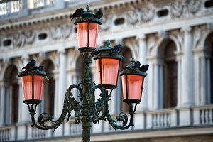 Lamp on Piazza San Marco