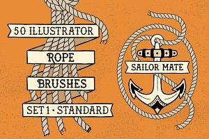 Sailor Mate's Rope Brushes I