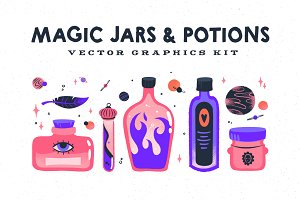 Magic Jars and Potions Kit