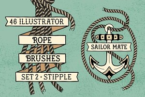 Sailor Mate's Rope Brushes II