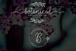 Botanical Premade Logo