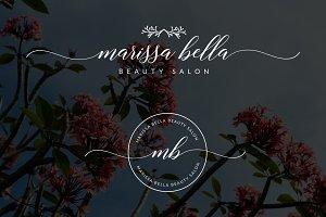 Marissa Bella Premade Logo
