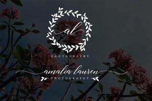 Amalia Lauren Premade Logo