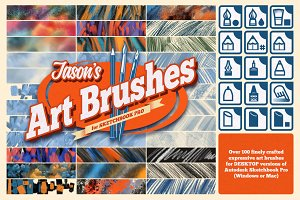 Jason's Sketchbook Pro Art Brushes
