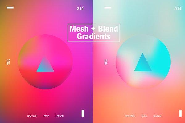 Gradients: Prime Dsgn - Vivid & Bright Gradients - Updated