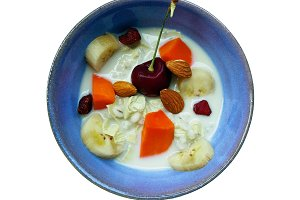 Breakfast food of Soybean milk