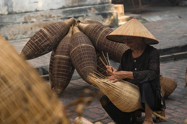 Industrial Stock Photos: Tzido Gallery - Vietnam, traditional artist concept