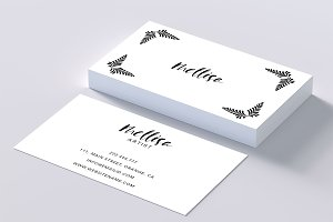 Eye catching art business card